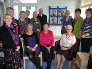 November 2014 Stroud Maternity Unit - wall-hanging presentation