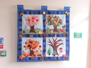 November 2014 Wall-hanging made for Stroud Maternity Unit